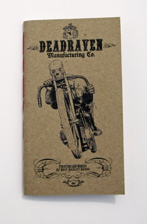 Deadraven Motorcycle Notebook