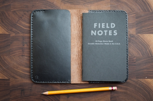 Hand Stitched Horween Field Notes Cover