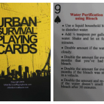Urban Survival Playing Cards