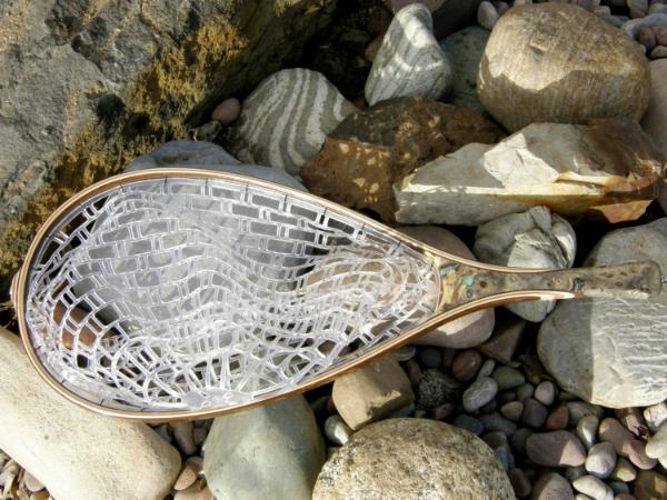 Handmade Wooden Landing Net