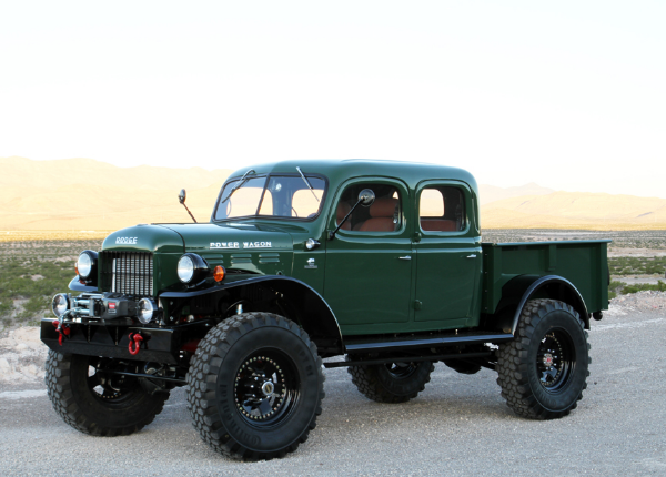 1949 Dodge Power Wagon on 1956 dodge d200