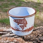 Treeline Outdoors Enamel Mug