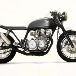 1980 Honda CB750 Neck Tat by Steel Bent Customs