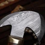 Handmade Damascus Axe