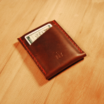 North/South Slim Wallet by Fish and Wood
