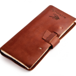 Fly Fishing Leather Log Book